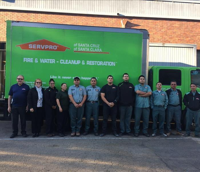 SERVPRO of Santa Clara Production Staff