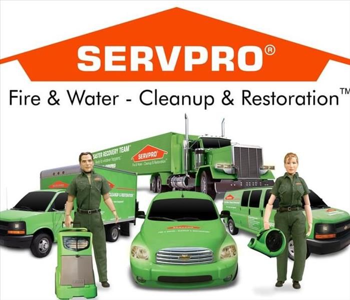 SERVPRO Team & Vehicle