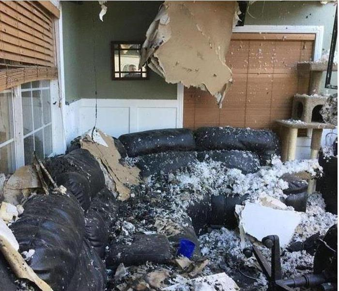 Fire Damage SERVPRO is the Answer for Fire Damage Restoration